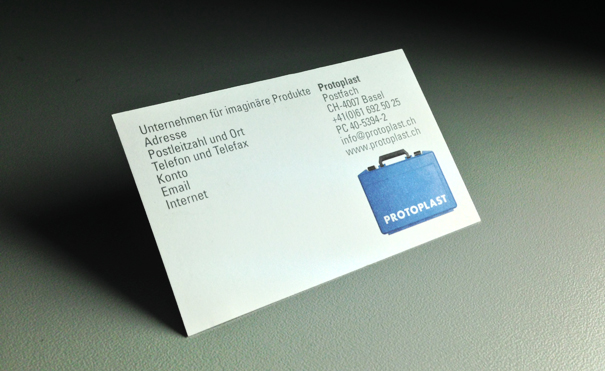 Protoplast, Protoplast (business card)