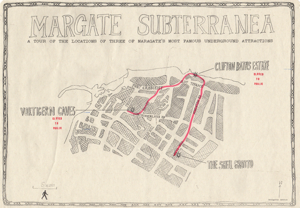 Bridgette Ashton, Margate Subterranea Map