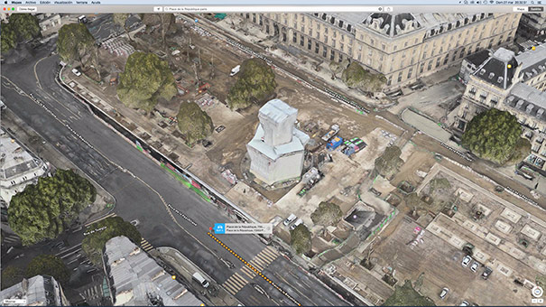 La Galerie Légitime 2.0: Place de la République by Apple Maps